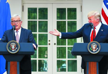 US, EU take u-turn; agree to work toward zero-tariffs