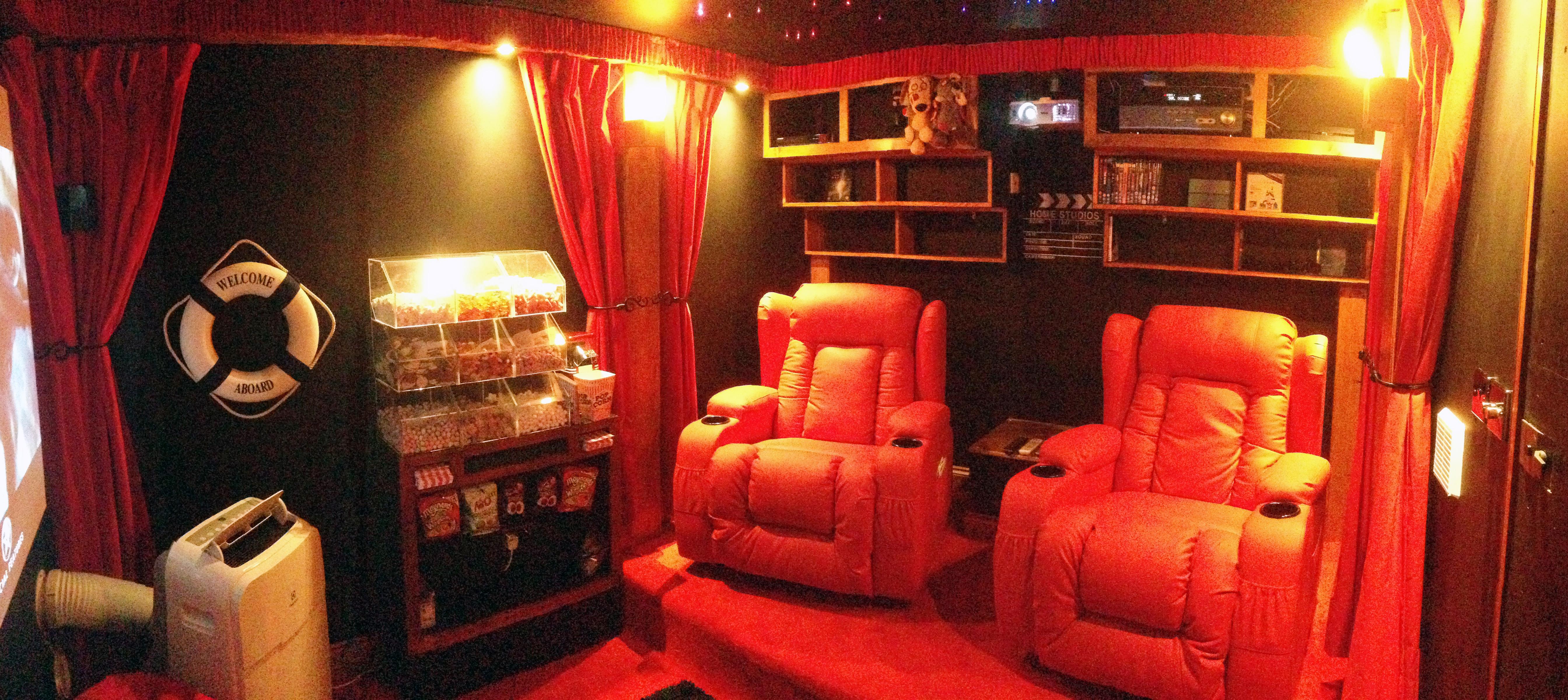 Interior wide shot