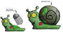 Animazombs Snail concept