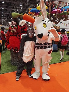 Victor the Rabbit and the Donnie Darko one...