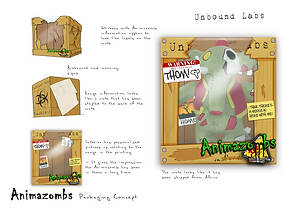 Animazombs Packaging - Savannah Series