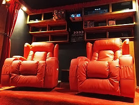 Torii Cinemas Interior Lazy boy seating