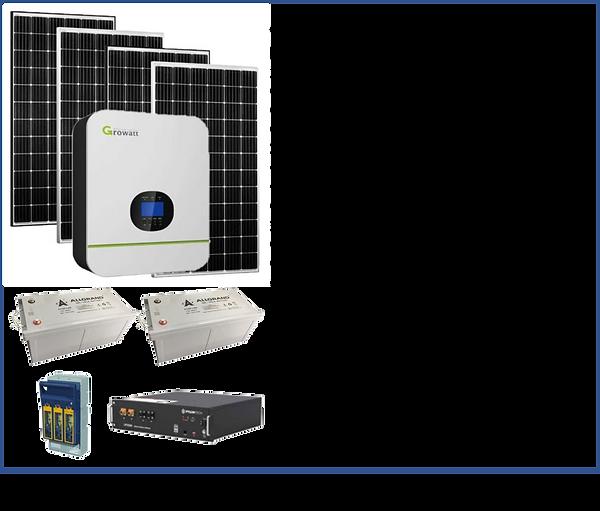 5kVa Growatt Solar - 12 panel.png