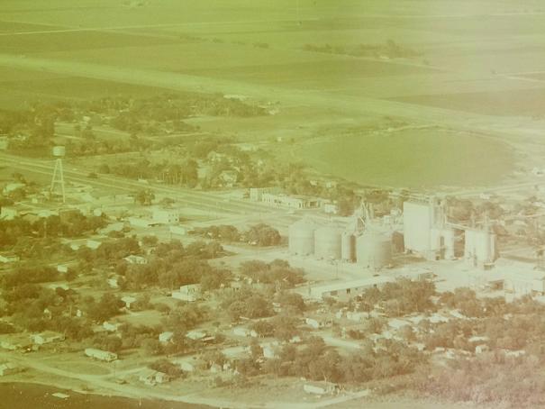 Aerial Lyford 1970(?)