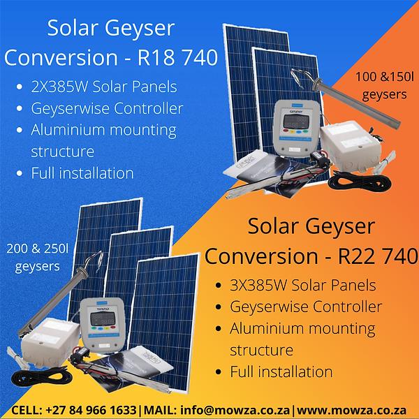 October Solar Geyser Conversion Specials.png
