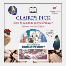 Dans la combi de Thomas Pesquet by Marion Montaigne