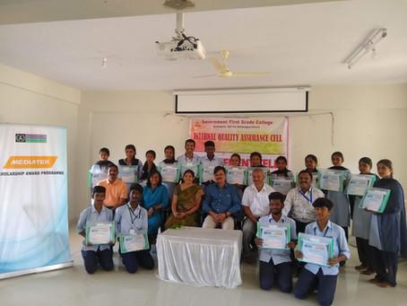 Prerana Days - Scholarship programs and SKF village visit
