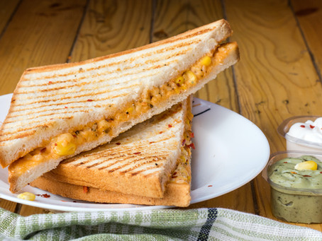 Level up your Grilled Cheese with Sriracha Salt