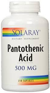 Pantothenic 500mg Q250