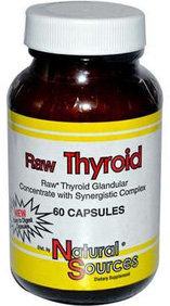 Raw Thyroid