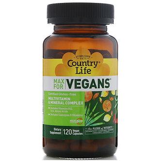 Max For Vegans