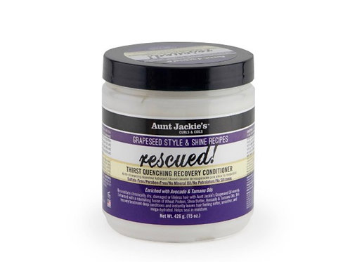 Aunt Jackies Grapeseed Rescued Conditioner 15oz
