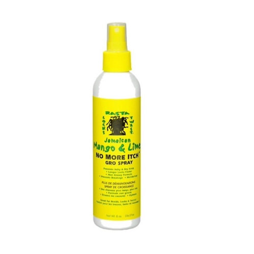 Jamaican Mango & Lime No More Itch Gro Spray 8oz