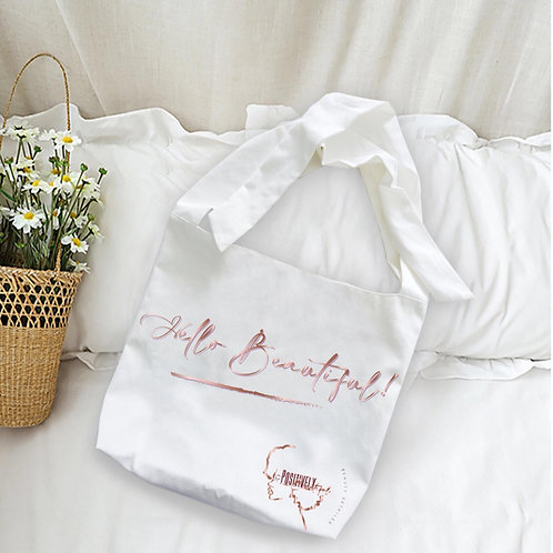 Positively Beautiful Tote Bag