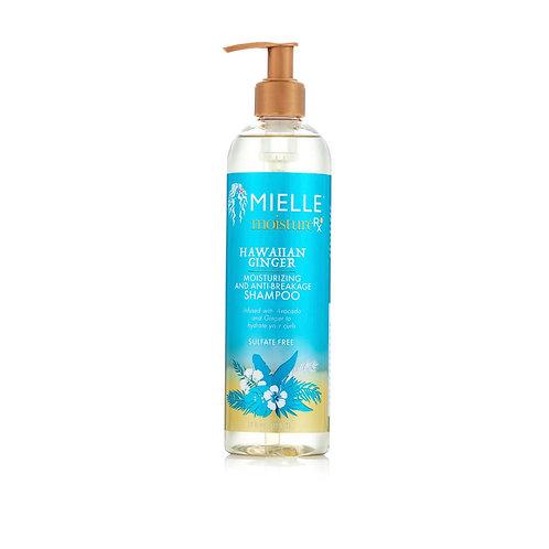 MIELLE Moisture RX  Hawaiian Ginger Moisturizing & Anti-Breakage Shampoo 12oz