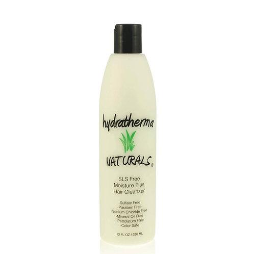 Hyrdratherma Naturals SLS Free Moisture Plus Hair Cleanser 2oz