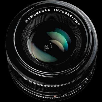 Camera Lens with company name