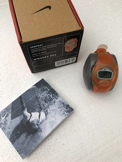 ACG 2002 NIKE TRANSLUCENT CORAL WATCH