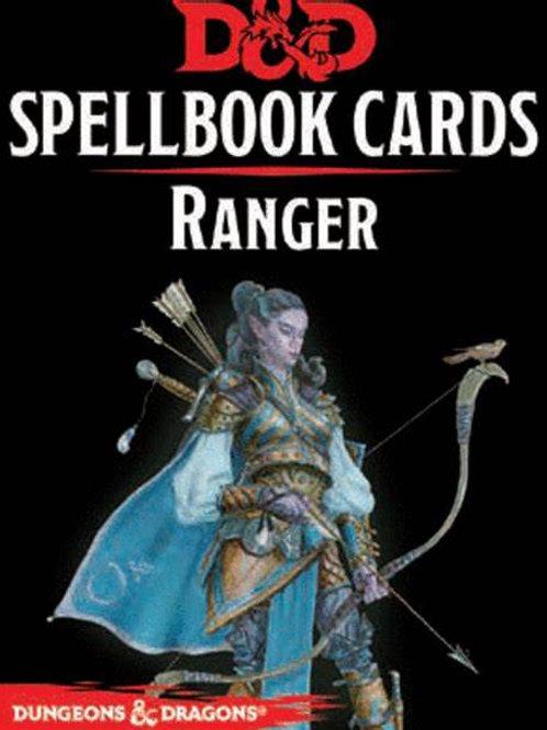 D&D Ranger Spellbook Cards
