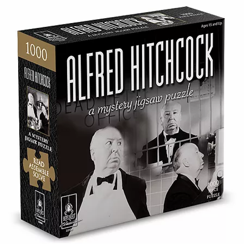 1000pc Alfred Hitchcock Mystery
