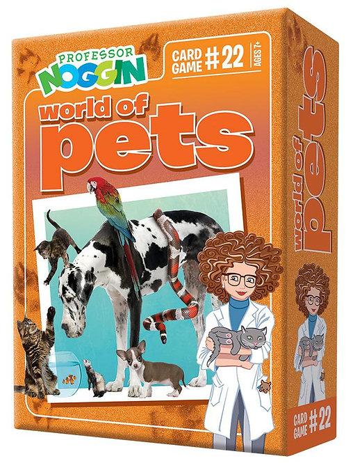 Professor Noggins- World of pets