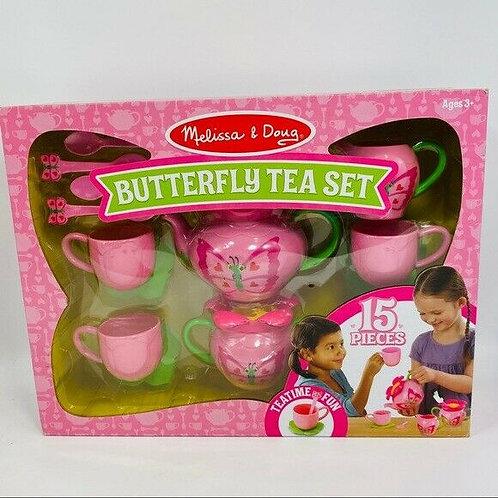 Butterfly Tea Set 15pc