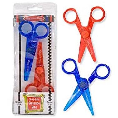 Child Safe Dual Scissor Set
