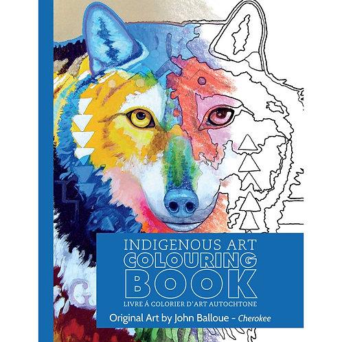 Indigenous Art Colouring Book Cherokee