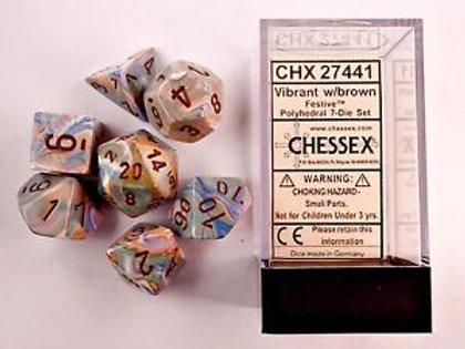 D&D Polyhedral 7-Die 27441