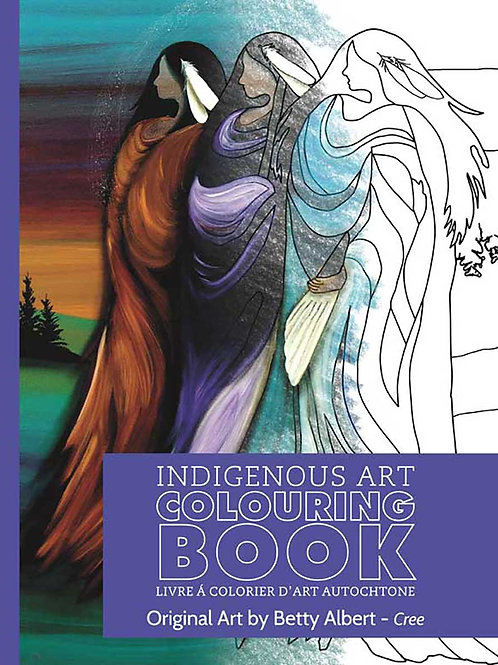Indigenous Collection Colouring book- Cree