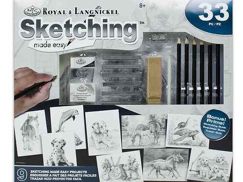 Sketching Made Easy 33pc