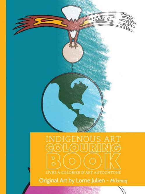 Indigenous Collection Colouring book- Mi'kmaq