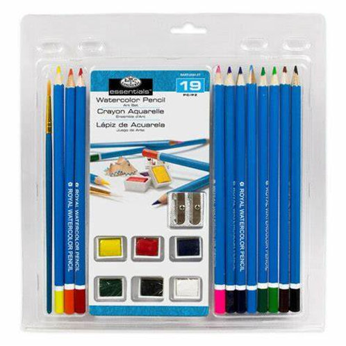 Water Colouring Drawing Art Set 19pc