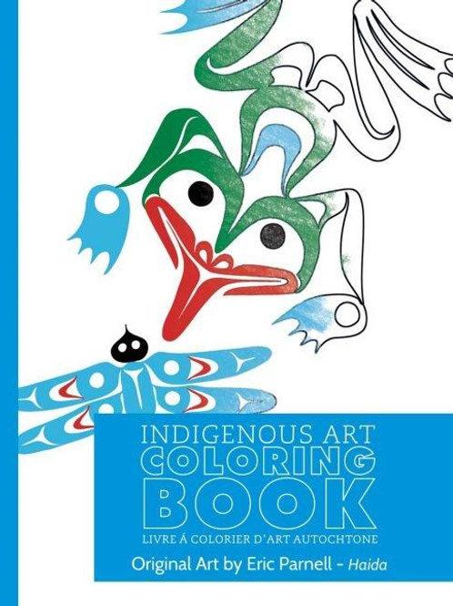 Indigenous Art Colouring Book Haida