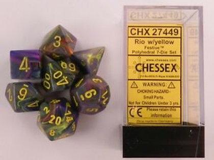 D&D Polyhedral 7-Die 27749
