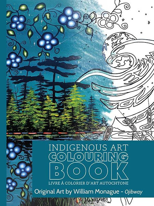 Indigenous Collection Colouring book- Ojibway