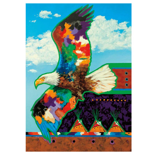 1000pc Indigenous Collection Puzzle- Messenger from Above