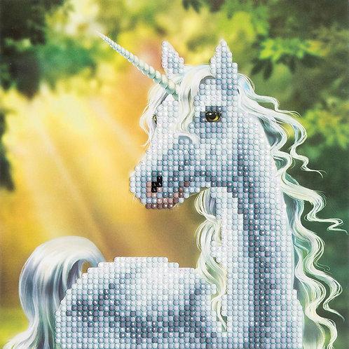 "Crystal Art 12""x12"" Sunshine Unicorn"