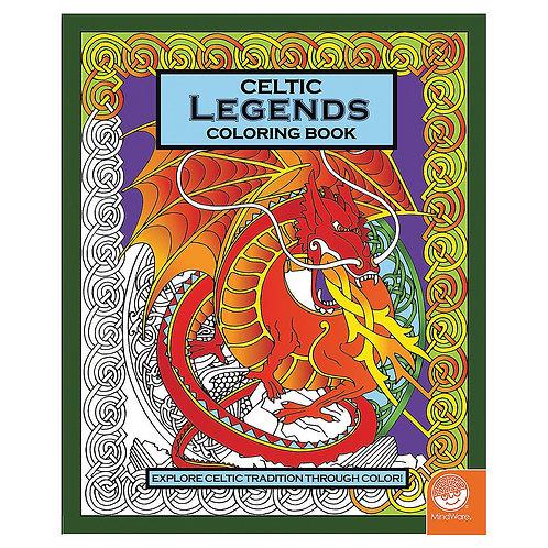 Celtic Legends Colouring Book