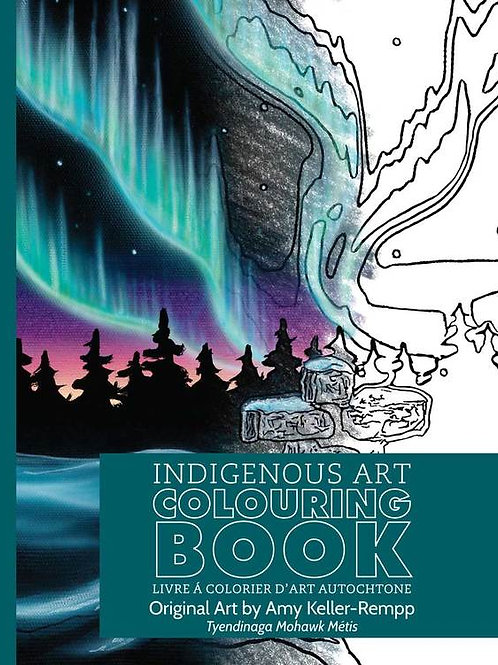 Indigenous Collection Colouring book- Rempp