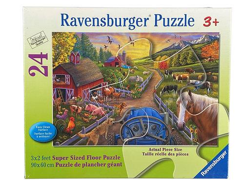 24pc Super Sized Floor Puzzle Ravensburger-03076