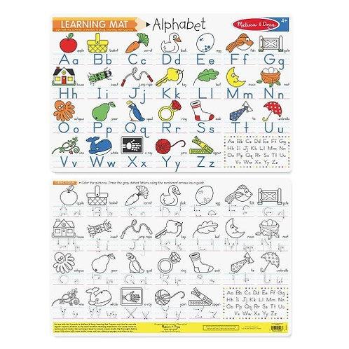 Learning Mat - Alphabet