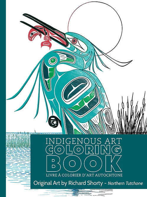 Indigenous Collection Colouring book-Northern Tutchone
