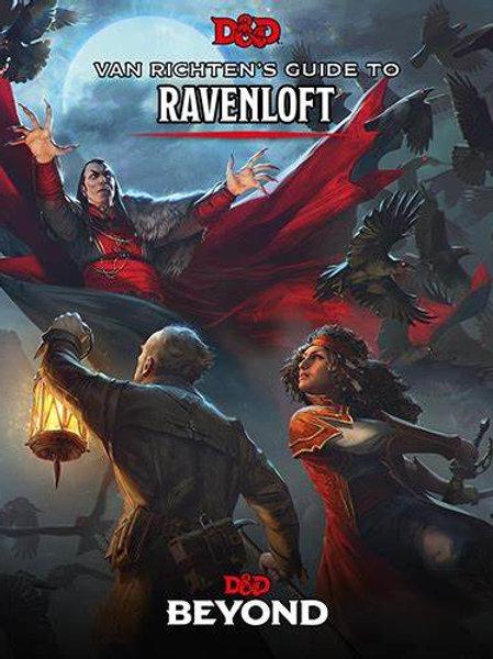 D&D Van Richten's Guide to Ravenloft Book