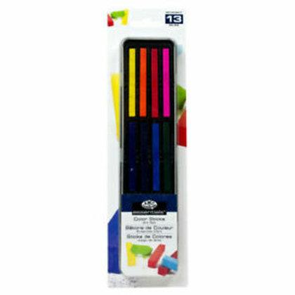 Colour Sticks Art Set 13pc