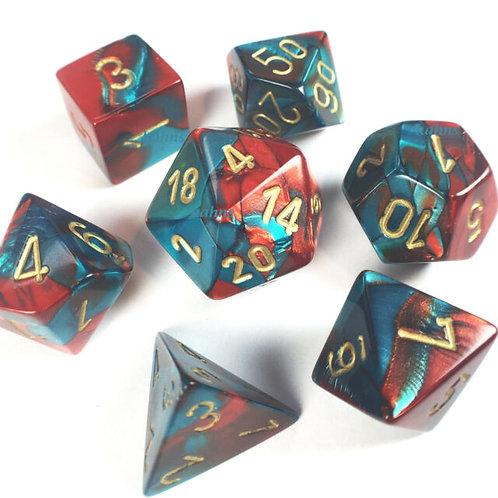 D&D Polyhedral 7-Die 26462