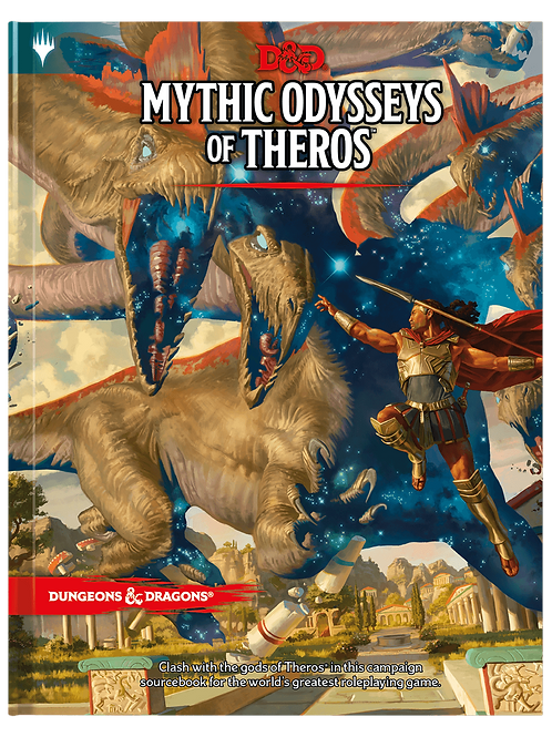 D&D Mythic Odysseys of Theros Book