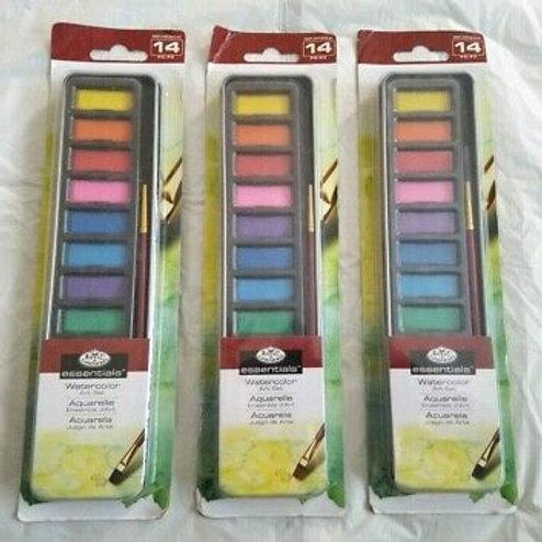Water Colour Art Set 14pc