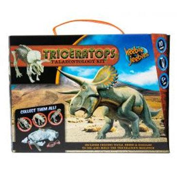 Triceratops Paleontology Kit