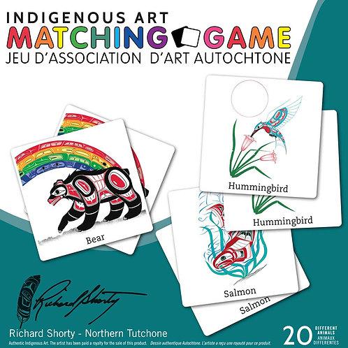 Indigenous Art Matching Game